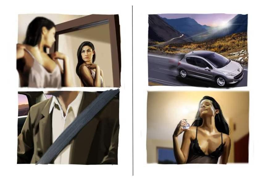 Peugeot - Storyboard